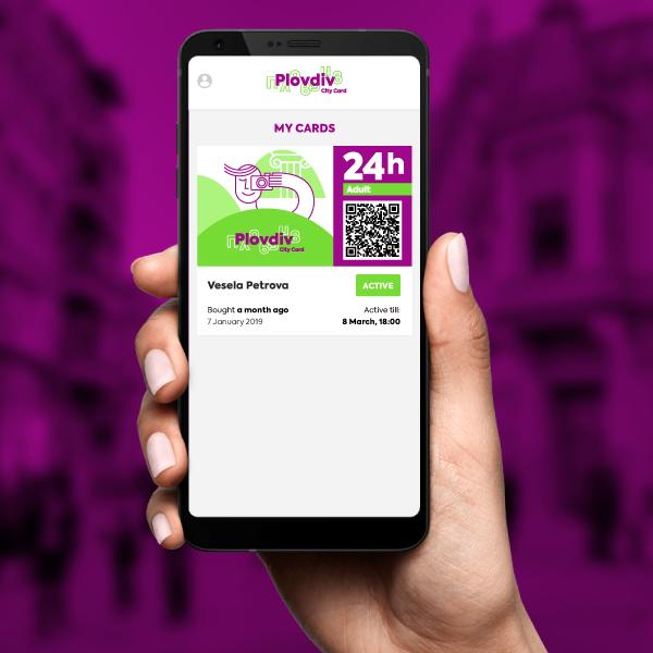 24h Adult Plovdiv City Card