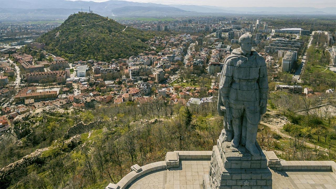 Alyosha Monument in Plovdiv