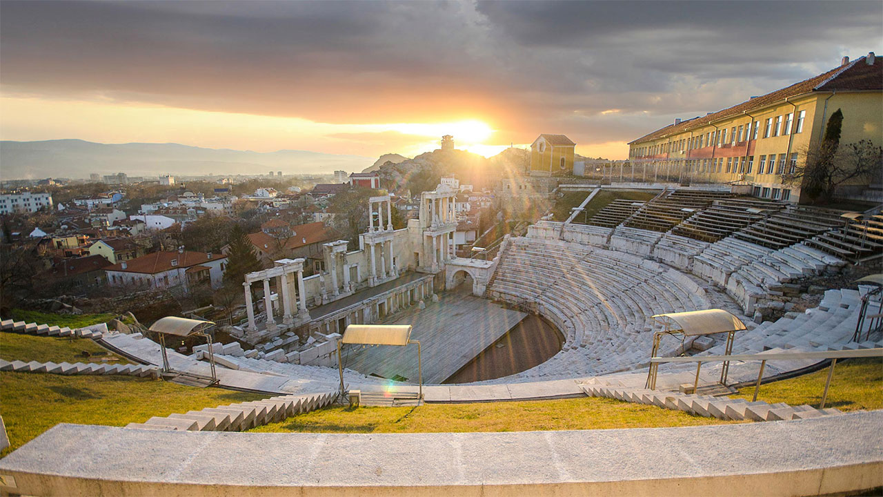 The Ancient Theatre in Plovdiv