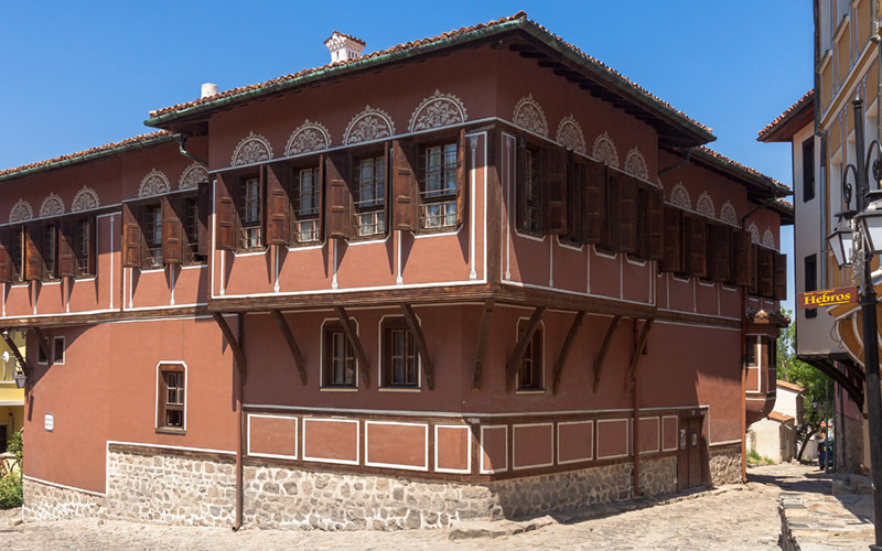 The Balabanov House in Plovdiv