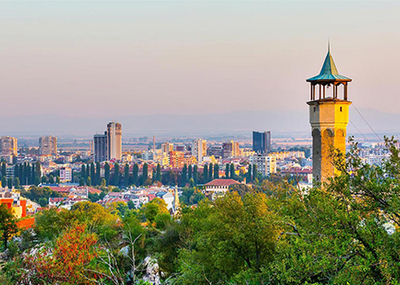 Часовниковата кула в Пловдив