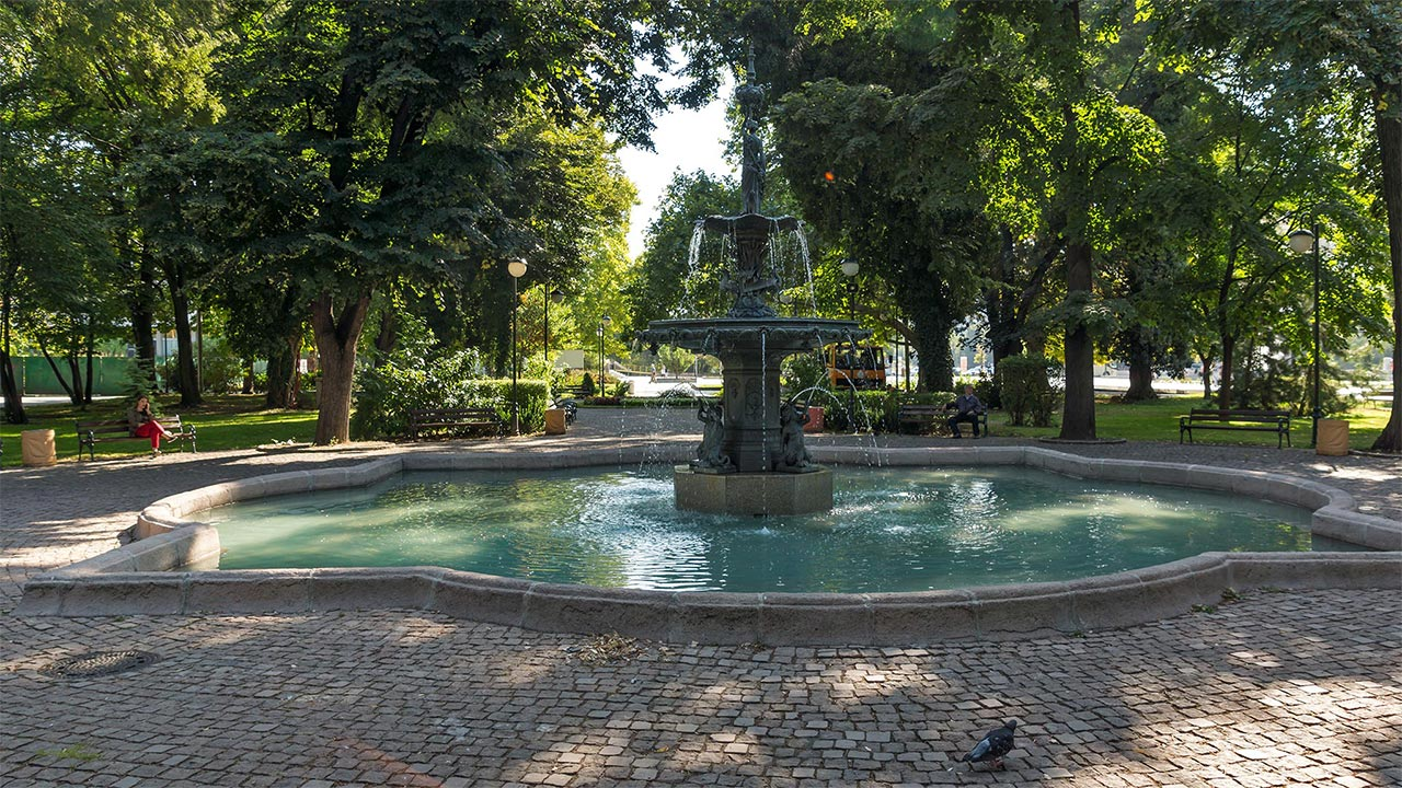 Garden of Tsar Simeon in Plovdiv
