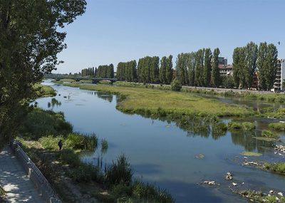 Река Марица в Пловдив