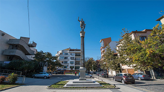 Monument of Philip II in Plovdiv