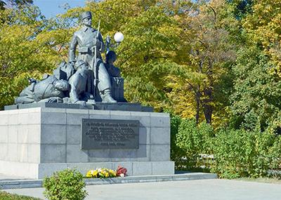 Паметник на Гюро Михайлов в Пловдив