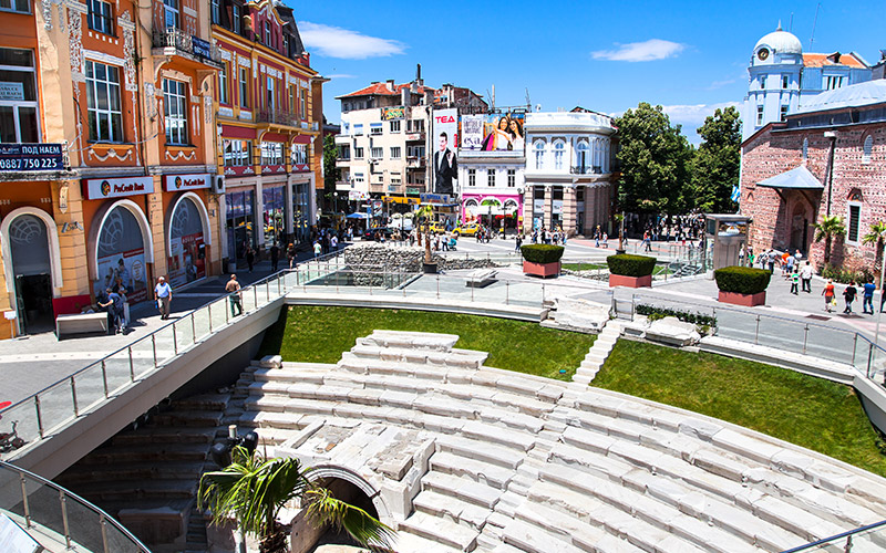 Roman Stadium in Plovdiv