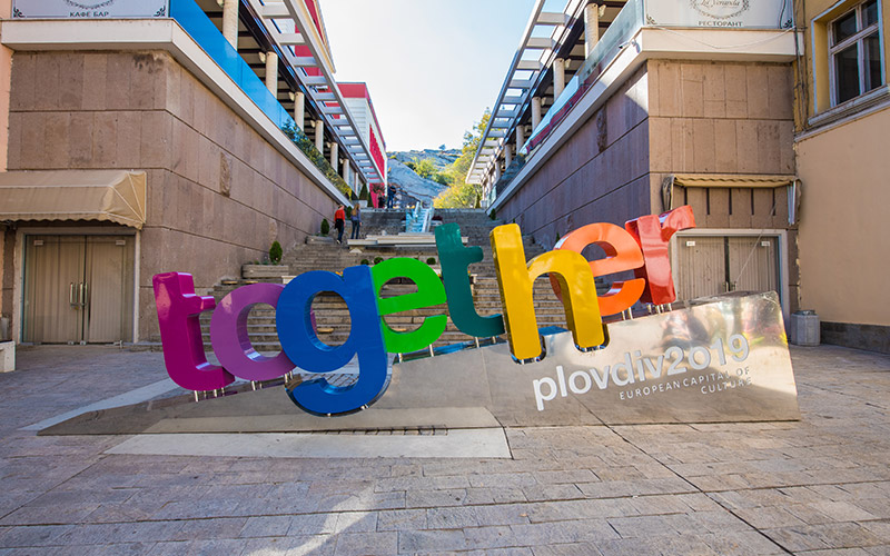 Together sign in Plovdiv