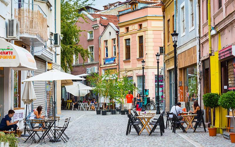 Wine in Kapana, Plovdiv