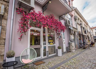 Магазин за натурална козметика Вишна в Пловдив