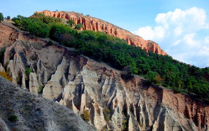 Stob Earth Pyramids, Bulgaria