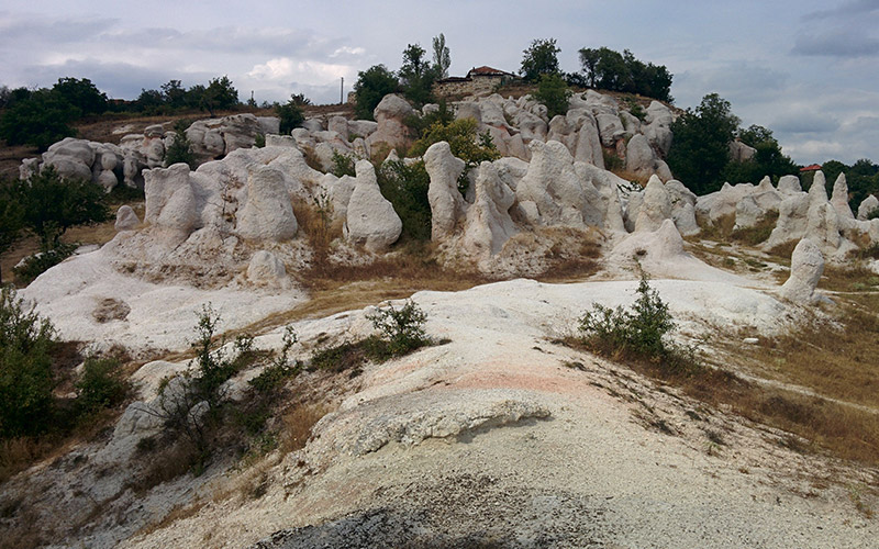 Stone mushrooms, Bulgaria