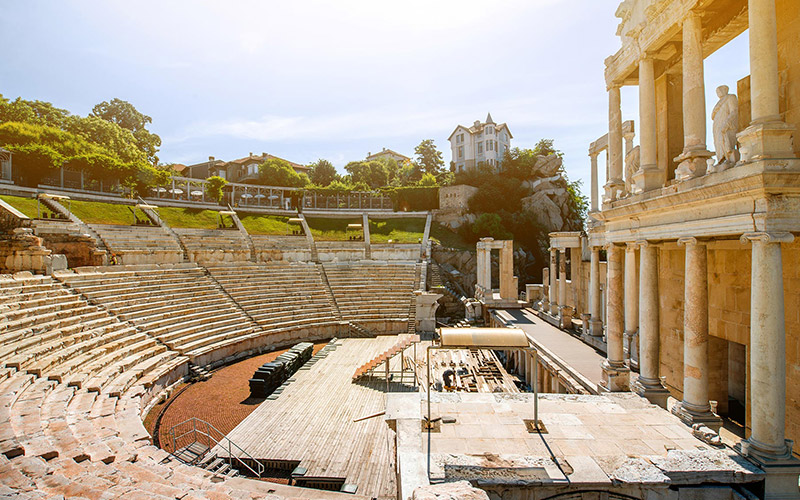 Plovdiv's Ancient Theatre