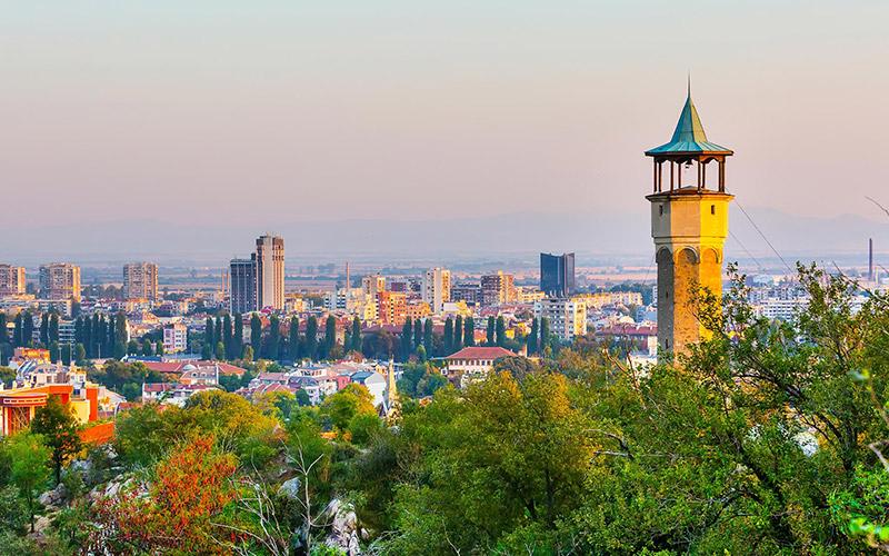 Clock Tower, Plovdiv