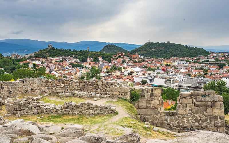 Plovdiv's seven hills