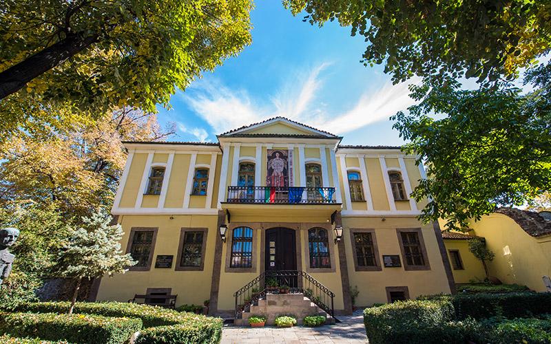 Zlatiyu Boyadzhiev Gallery, Plovdiv