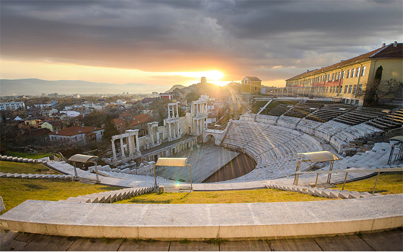 Ancient Theatre in Plovdiv