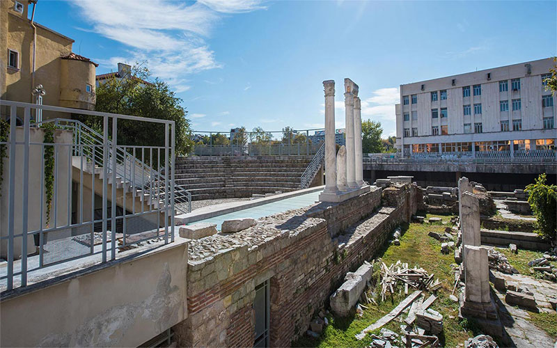 Roman Forum in Plovdiv