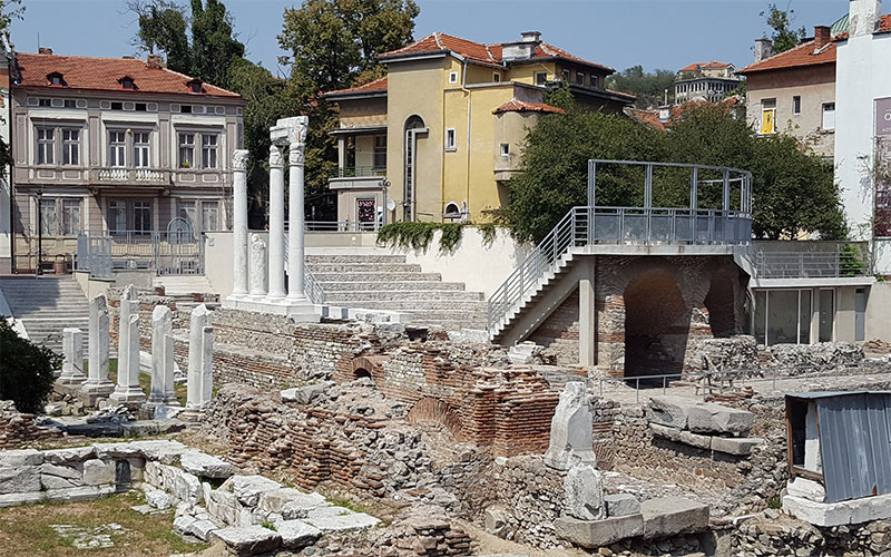 Roman Odeon in Plovdiv