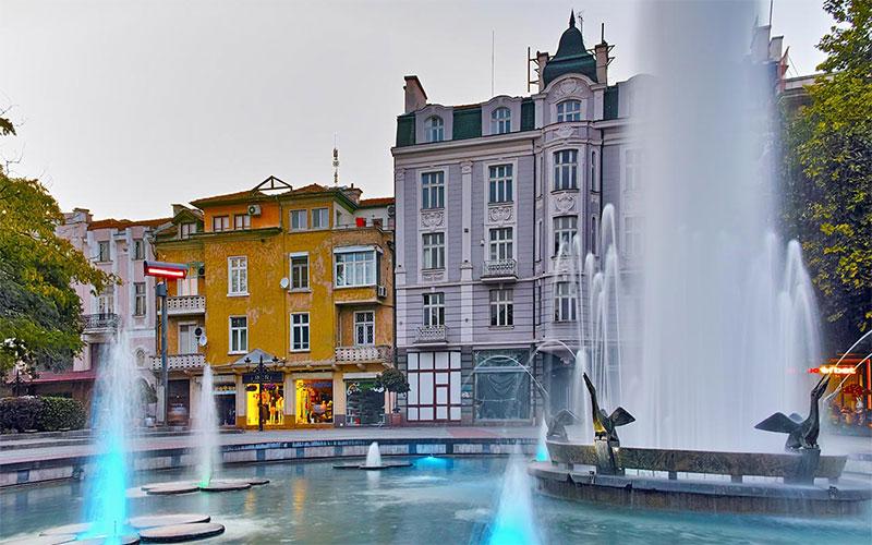 Stefan Stambolov Square Plovdiv