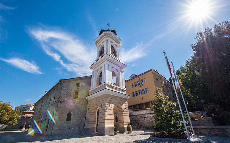 The Holy Assumption Cathedral in Plovdiv
