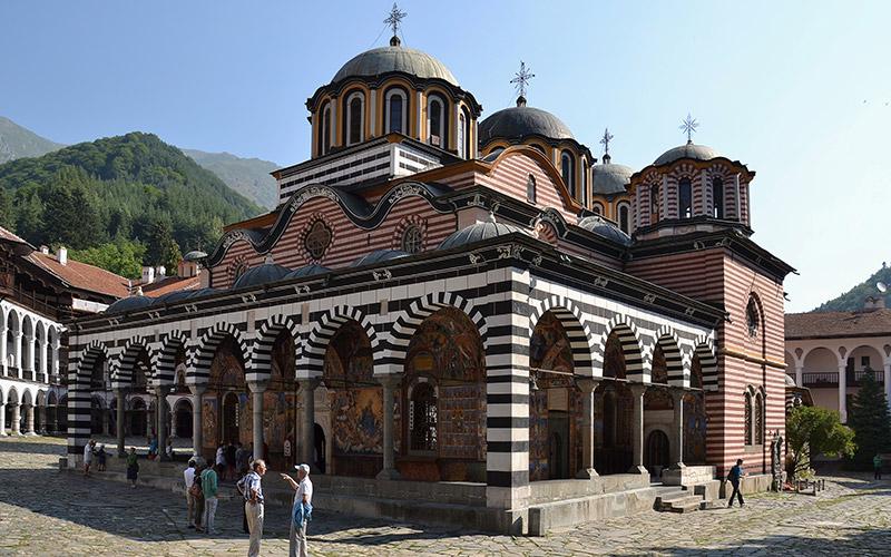 Rila Monastery, Bulgariav
