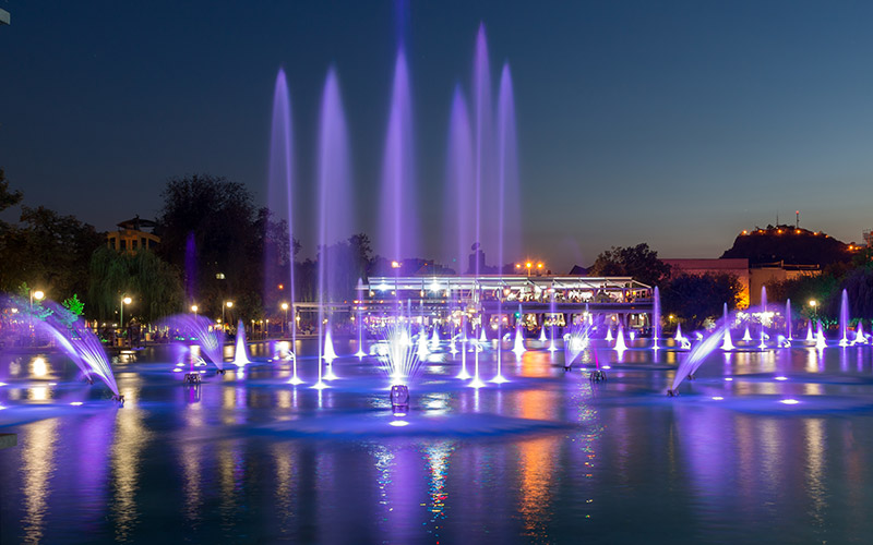 Singing Fountains, Plovdiv