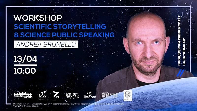 Scientific Storytelling with Andrea Brunello