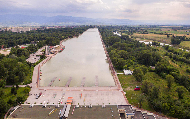 Rowing Channel and base Plovdiv