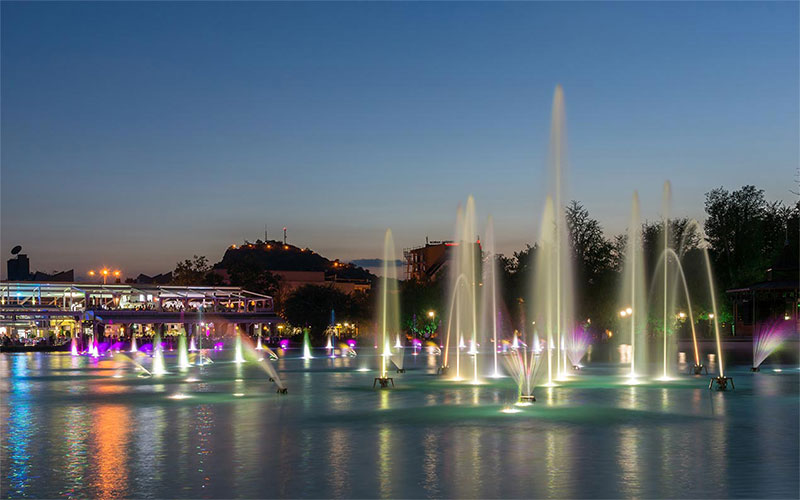 Singing Fountains in Plovdiv