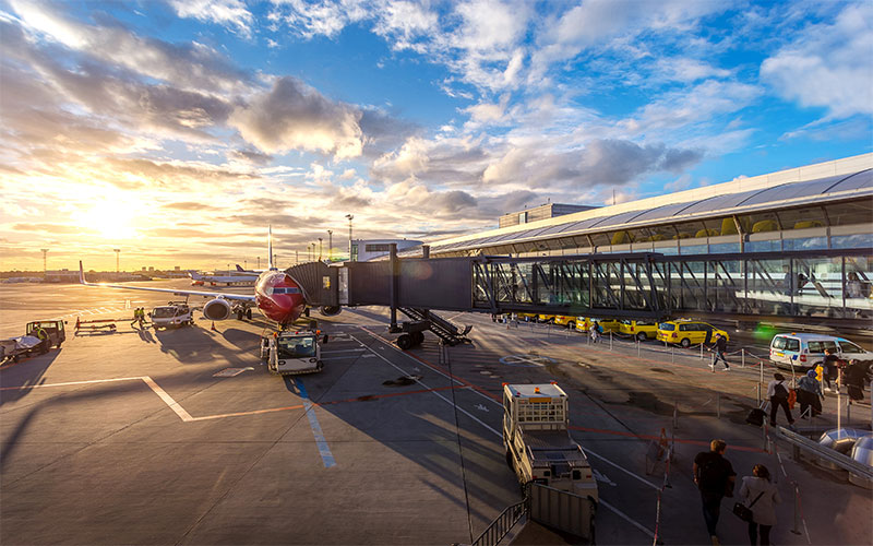 Travelling Europe Airports