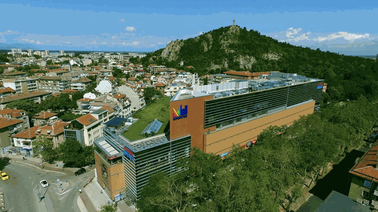 Мол Марково Тепе в Пловдив