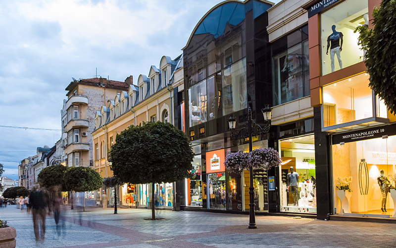 Shopping street, Plovdiv