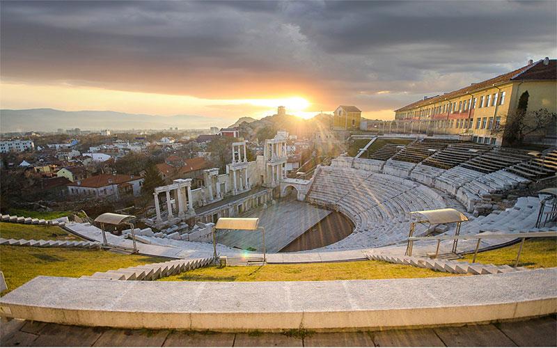 Ancient Theatre Plovdiv