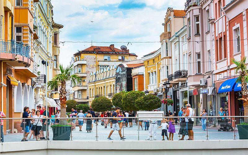 Main Pedestrian Street Plovdiv