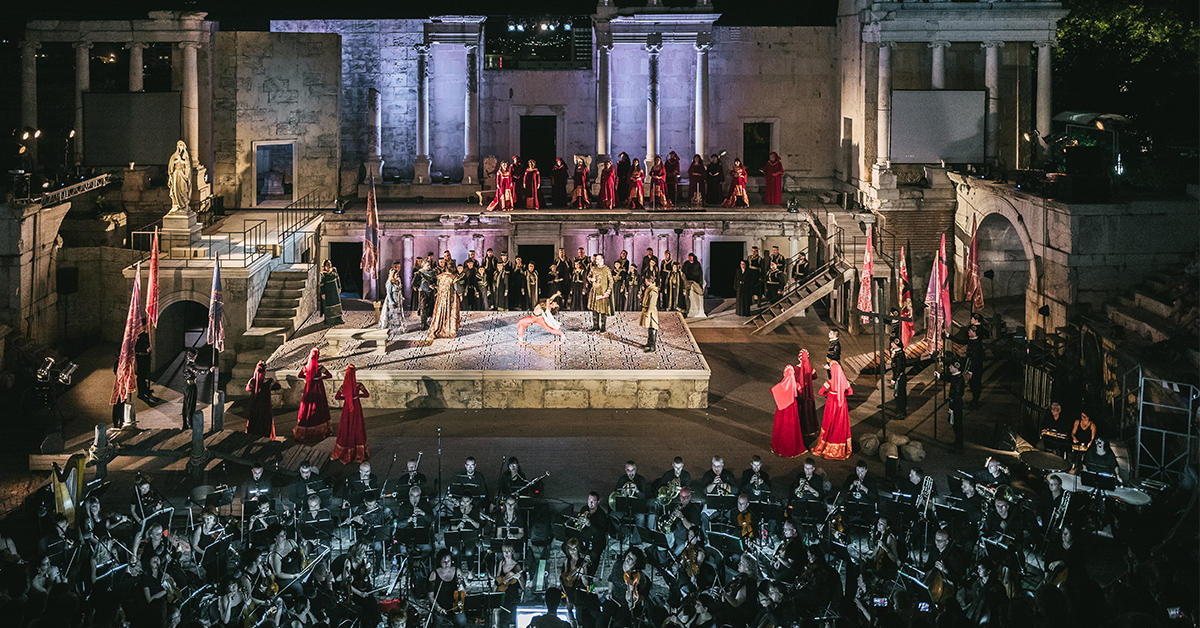 Opera Open 2019 in Plovdiv - Highlights