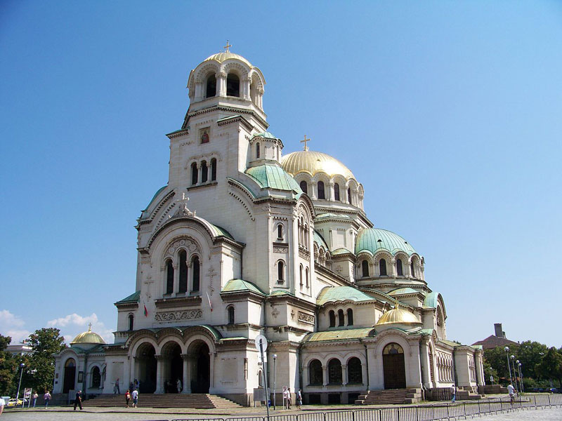 Bulgaria Alexander Nevsky Cathedral