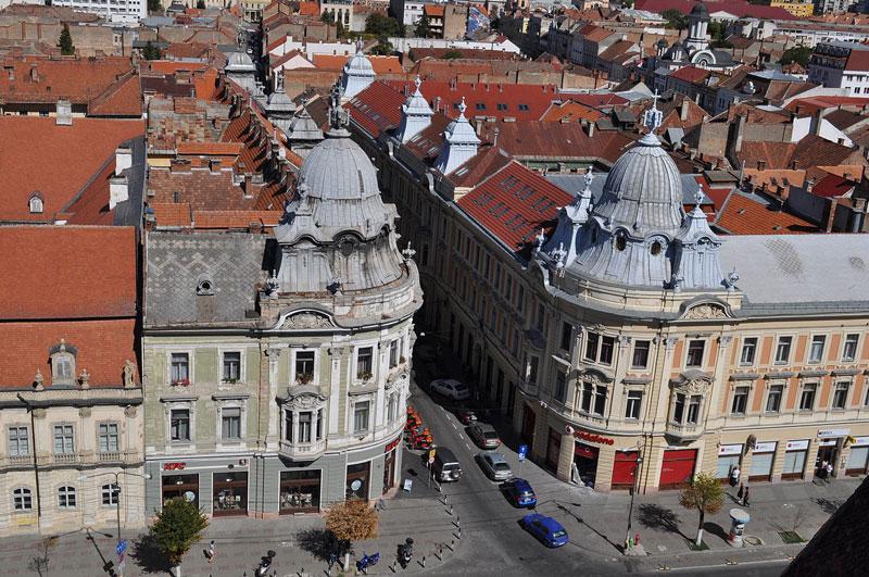City of Cluj Romania