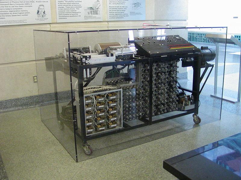 First Electronic Computer Atanasoff