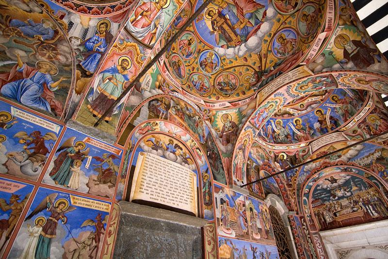 Rila Monastery Fresco