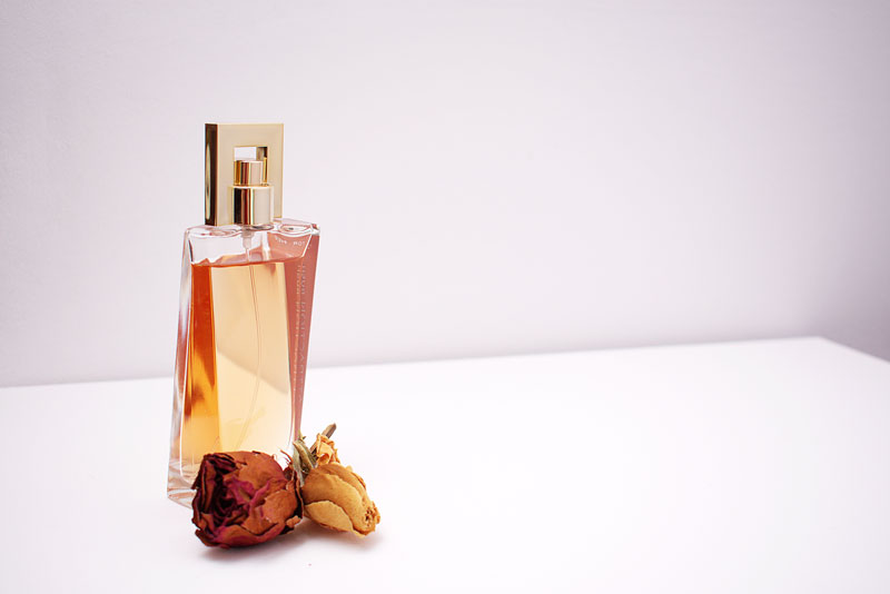 Rose oil in perfumery