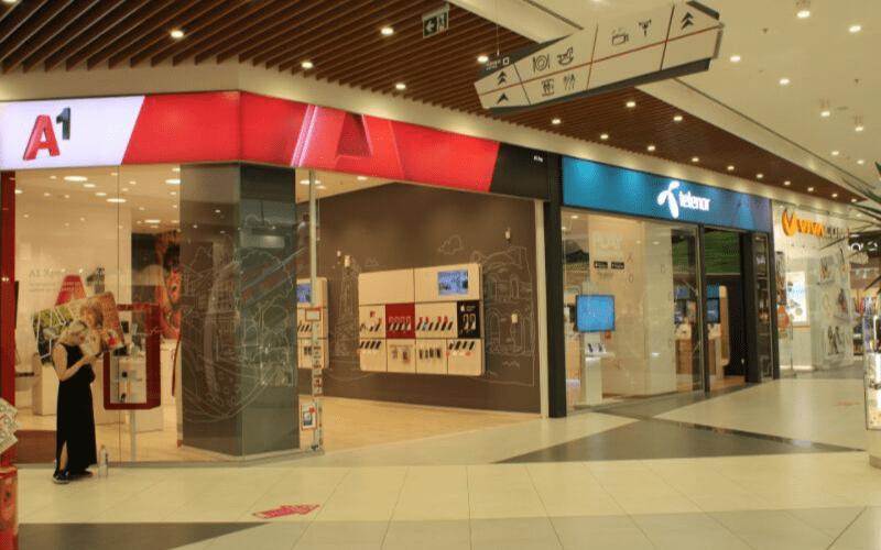 Mall Markovo Tepe, Telecomm