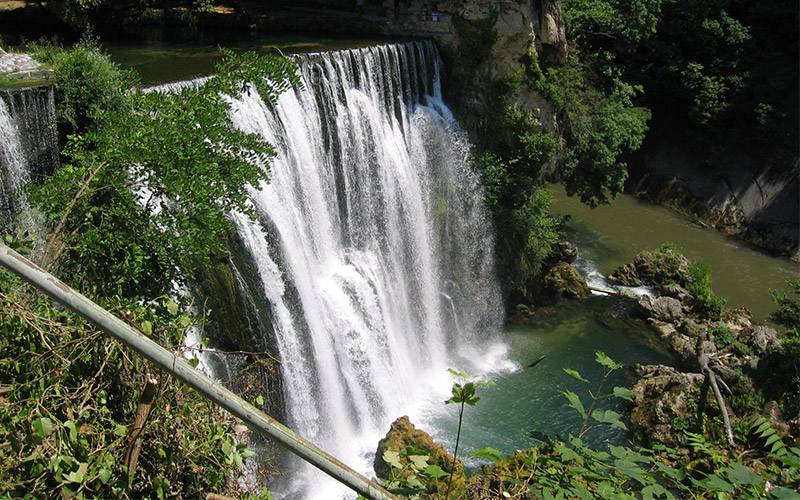 Pliva Waterfall (Bosnia and Herzegovina)