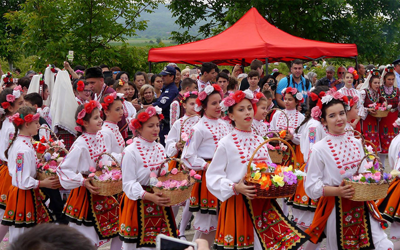 Rose Festival in Kazanlak